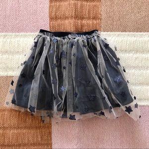 NWT Zara | Baby Girl Navy Star Tulle Skirt 12-18